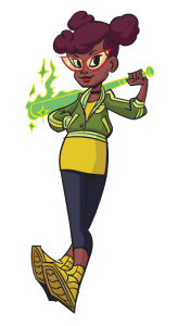 April O'Neil may look a bit different, but she still knows how to handle herself! Image Source: Nickelodeon.