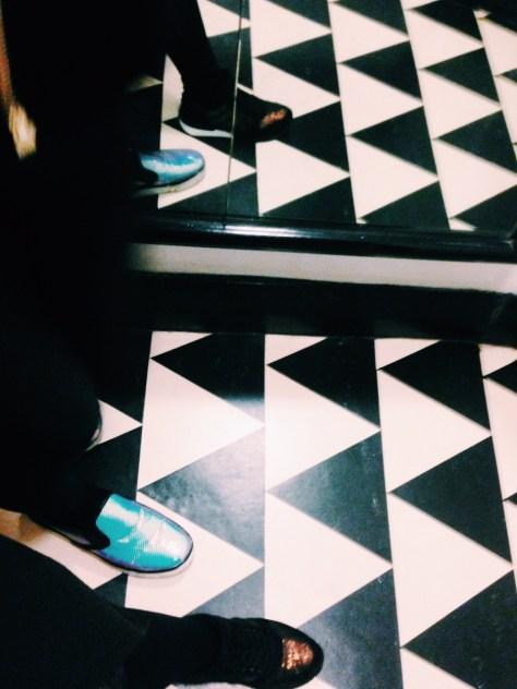 'ICA Floor, ft. Shoes' by Isabella Santamaria