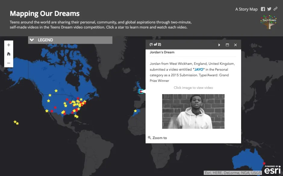 Mapping Our Dreams with Teens Dream