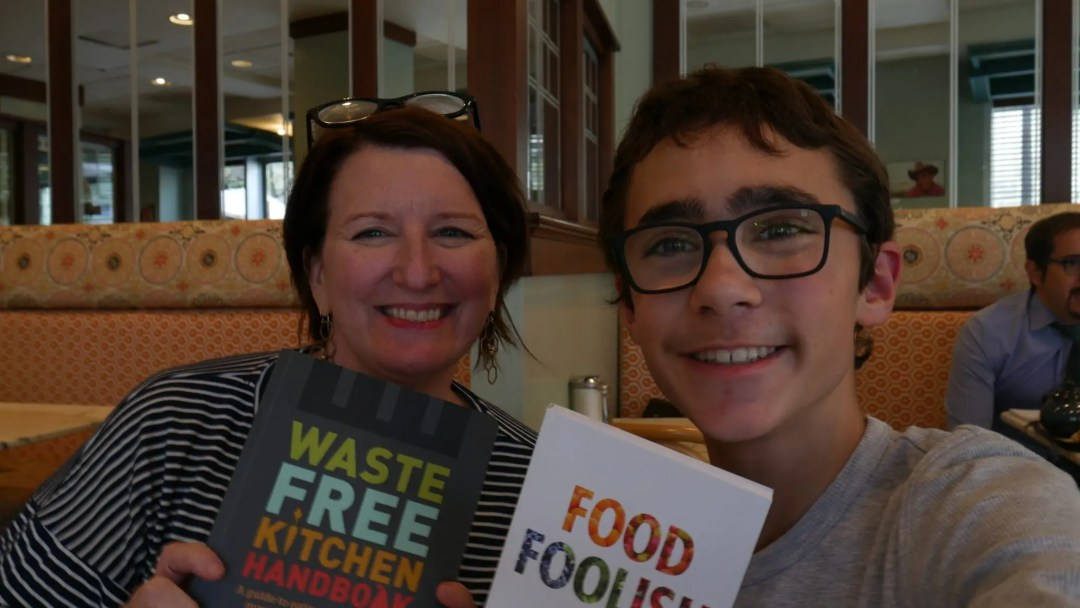 Farm to Fork Dream Hub Ambassador and his Mentor