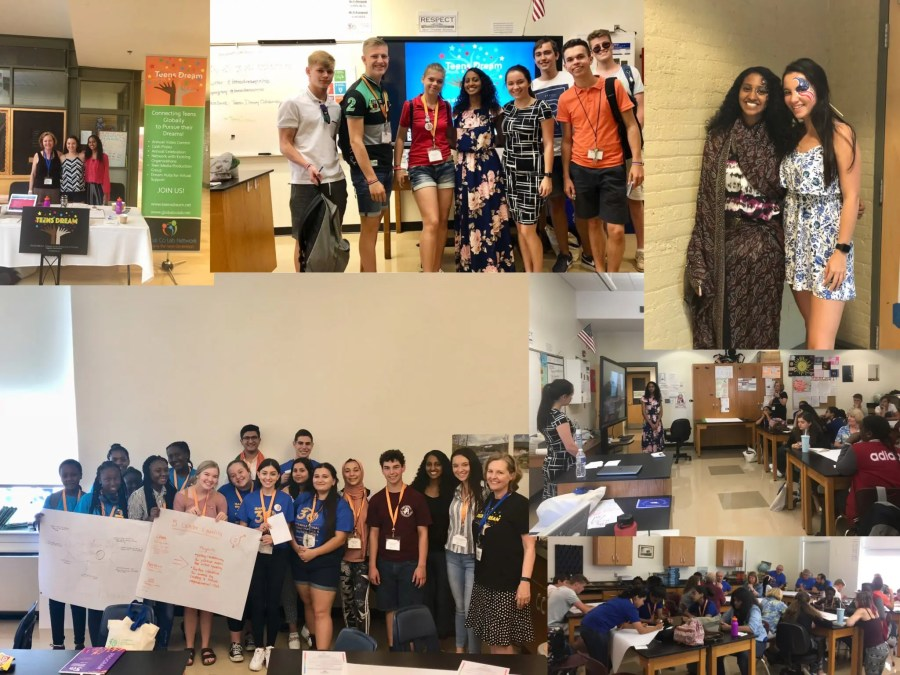 Teens Dream Attends Global iEARN 2018 Conference!