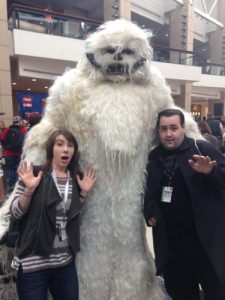 Wampa attacks Pam and her brother!