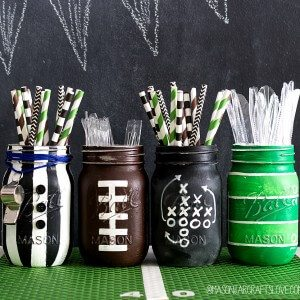 Football-Party-Mason-Jar-Craft-Centerpiece-Table-Setting-Ideas-2-of-9-2-300x300