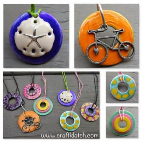 Washer Necklaces 2