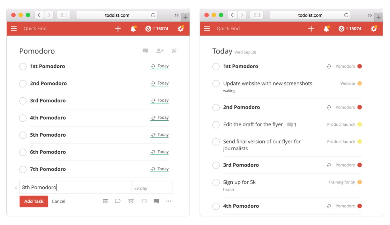 pomotodo-productive apps