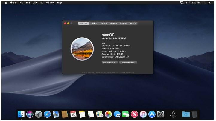 Install macOS 10.14 Mojave on VirtualBox