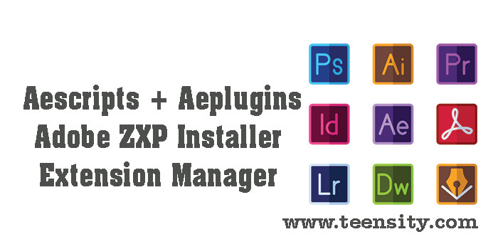 Adobe ZXP Installer - Adobe Extension Manager CC 2018 Free