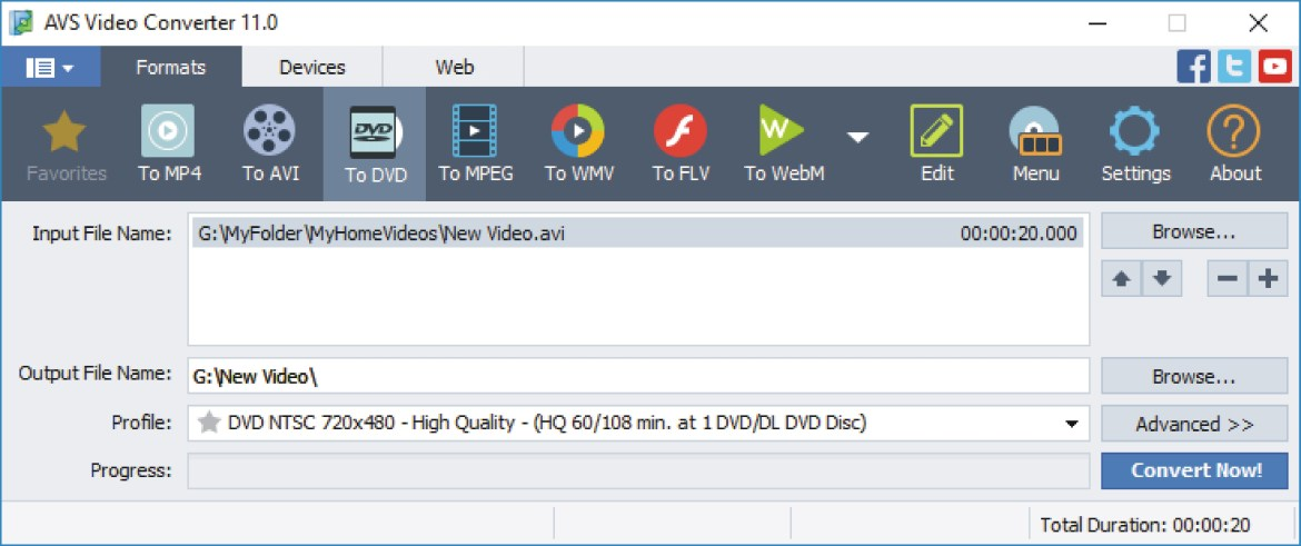 AVS Video Convertor 11 Free download