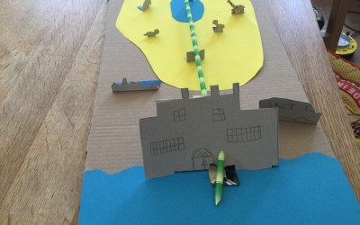 Buildings from our TeenTech City of Tomorrow at Home – Week 2