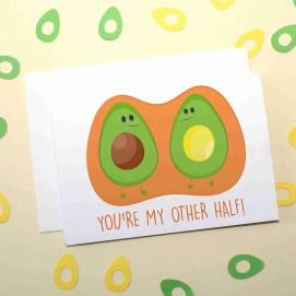 avocado card new