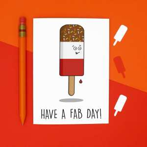 Graduation Card, Funny Pun Card, Fab Lolly Card, TePe Creations, Confetti Card, Well Done Card, Congratulations Card, Blank Greetings Card, Cute Birthday Card, Anniversary Card, Wedding Day Card, Blank Birthday Card, Funny Birthday Card