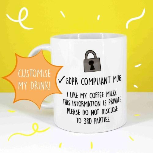 gdpr mug 1 customise my drink