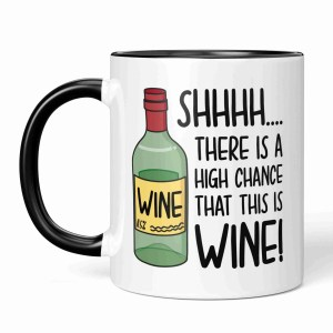 New Home Gift, Wine Lover Gift, Funny Birthday Gift, Wine Pun Mug, TeePee Creations, Gift for Friend, Gift for Mum, Mothers Day Gift, Christmas Present, Cheeky Wine Mug, Wedding Gift, Wine Birthday Gift, Hen Do Gift