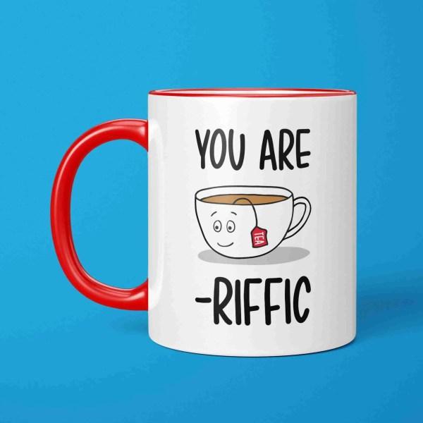 New Home Gift, Tea Lover Gift, Funny Birthday Gift, Tea Pun Mug, TeePee Creations, Gift for Friend, Gift for Mum, Mothers Day Gift, Christmas Present, Fathers Day Gift, Wedding Gift, Tea Birthday Gift, New Job Gift