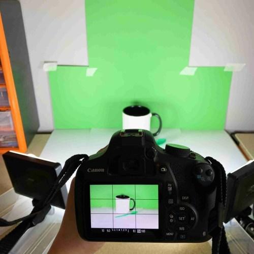 Behing the scenes mug photo