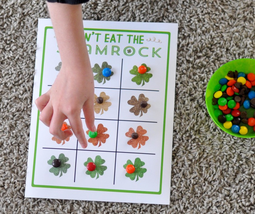 Don't Eat The Shamrock Free Printable from www.TeepeeGirl.com