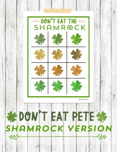 Don't Eat Pete-Shamrock Version