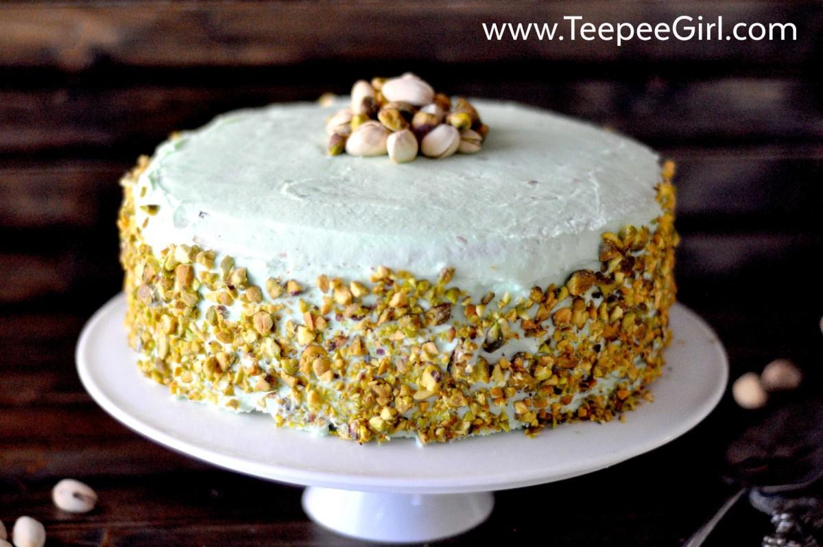 Easy Pistachio Cake Recipe (A tribute to Aunt Lou)