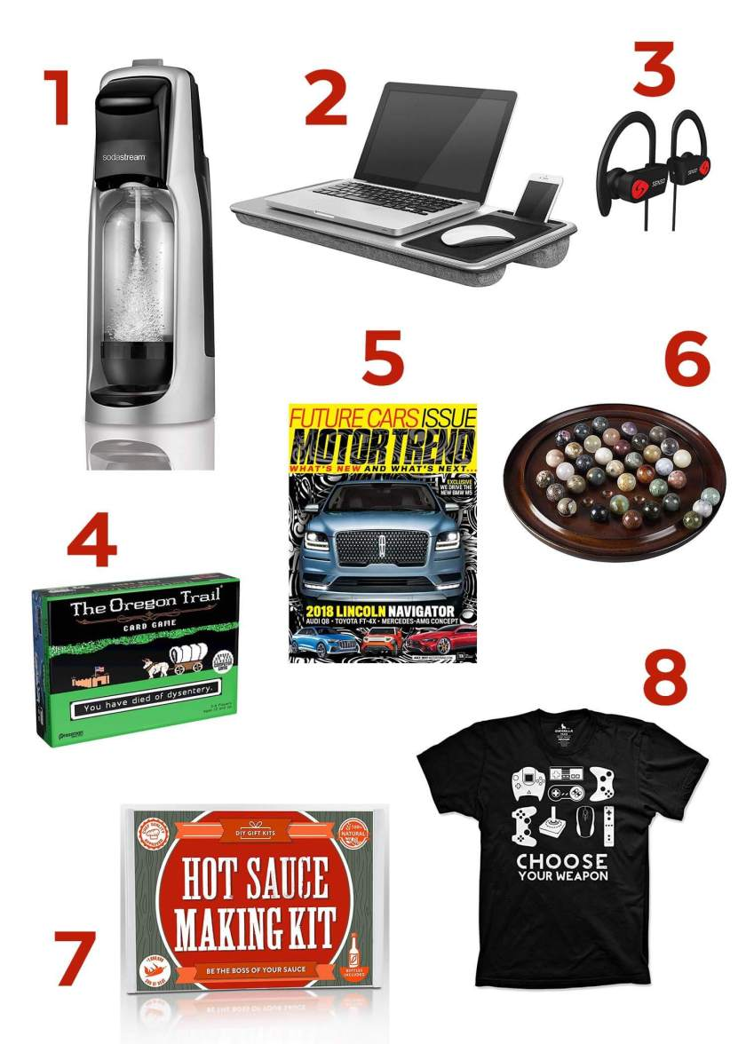 Father's Day Gift Guide! There's something here for every guy and every price range! Check it out www.TeepeeGirl.com