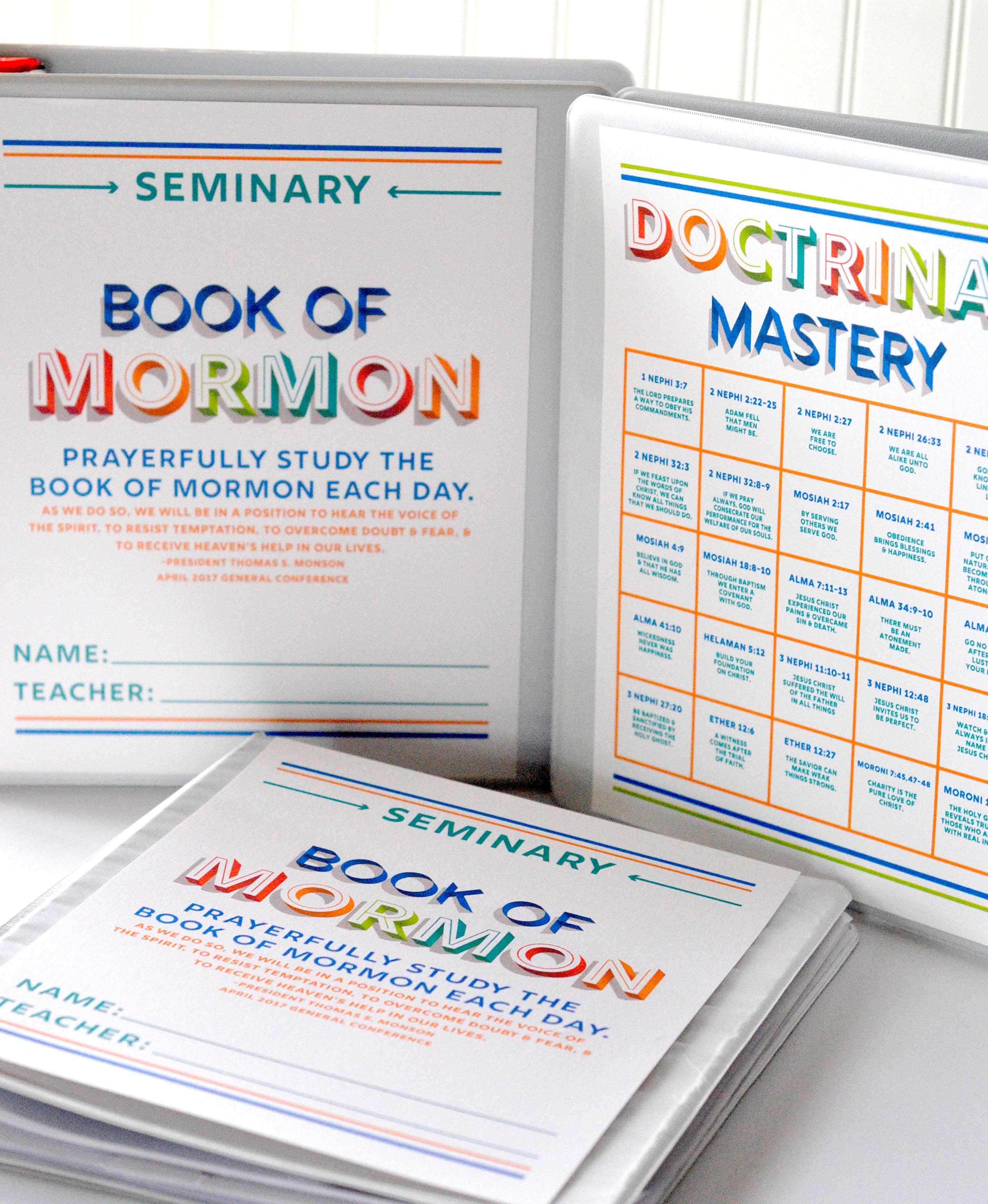 book of mormon seminary binder covers www teepeegirl com