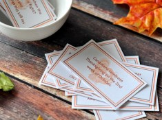Use these free Thanksgiving Joke/Fun Fact cards to decorate tables, use as lunch box notes, or just for fun! www.TeepeeGirl.com