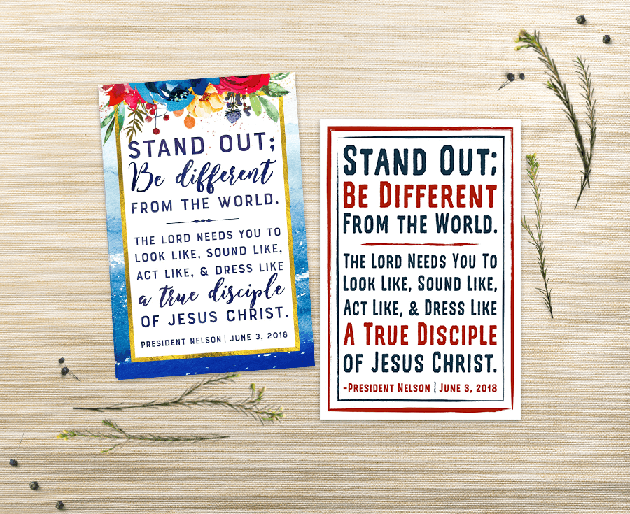 LDS Youth Battalion Quote Printables