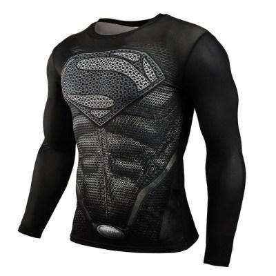 3D-Superman-Spiderman-Punisher-T