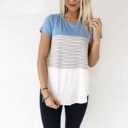 DERUILADY-Women-Clothing-Summer-Short-Sleeve-O-Neck-T-shirt-2018-Fashion-Stripe-Patchwork-Casual-shirt.jpg_220x220