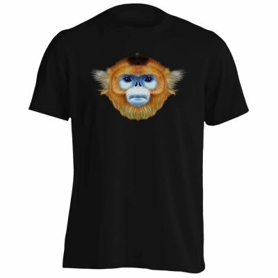 Golden-snub-nosed-Monkey-Men-s-T-Shirt-Top-New-T-Shirts-Funny-Tops-Tee-New_7