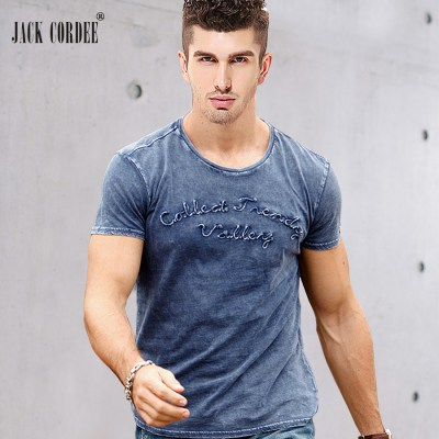 JACK-CORDEE-Fashion-T-shirt-Men-Letter-Embroidered-100-Cotton-Tee-Shirt-Slim-Short-Sleeve-Tshirt_1