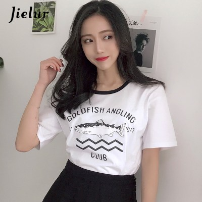 Jielur-Harajuku-Fish-Letter-Print-Fresh-All-match-Haut-Femme-Simple-Casual-Fashion-Korean-T-Shirts_5
