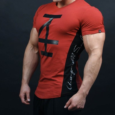 Mens-fashion-t-shirt-Spring-summer-casual-shirts-Gmys-Fitness-Bodybuilding-short-sleeve-male-personality-Slim_7