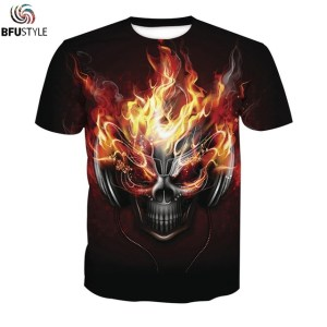 Music Skull Custom Tshirt Men Women