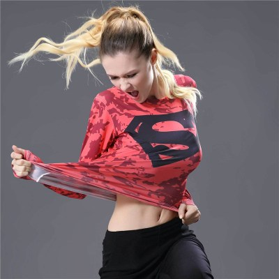 Superhero-Captain-America-Superman-Spiderman-Flash-Batman-Long-Sleeve-Tshirt-Women-Compression-Shirt-3d-Print-Tee_3