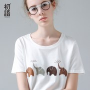 Toyouth-Kawaii-Elephant-Printed-T-Shirt-Women-Summer-Animal-Short-Sleeve-Tshirts-Harajuku-White-T-Shirt_19