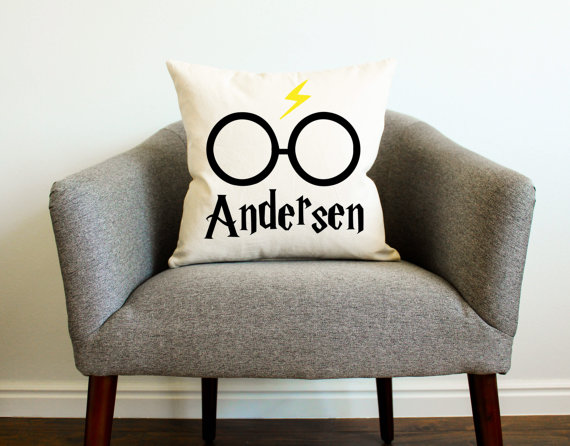 harry potter pillow case personalized