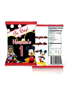 Mickey Mouse Chip Bags