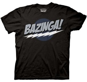 The Big Bang Theory Bazinoga! Tshirt