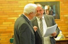 mit Bürgermeister Ruhkopf