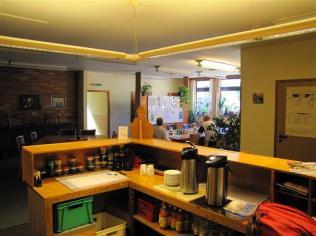 Blick von der Küche aus