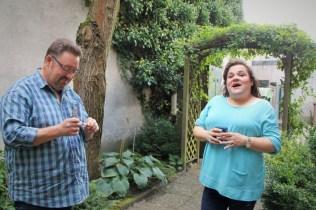 Dampf-und Rauchpause