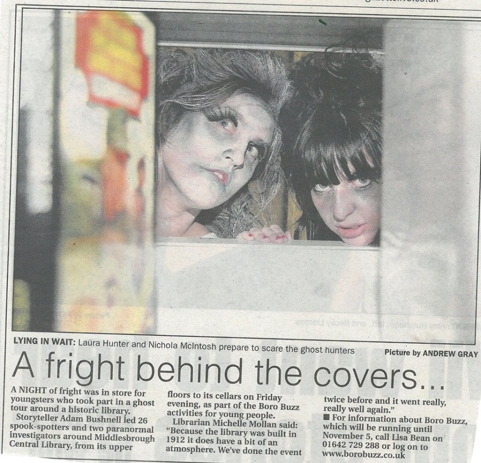 2008-10-27, Evening Gazette