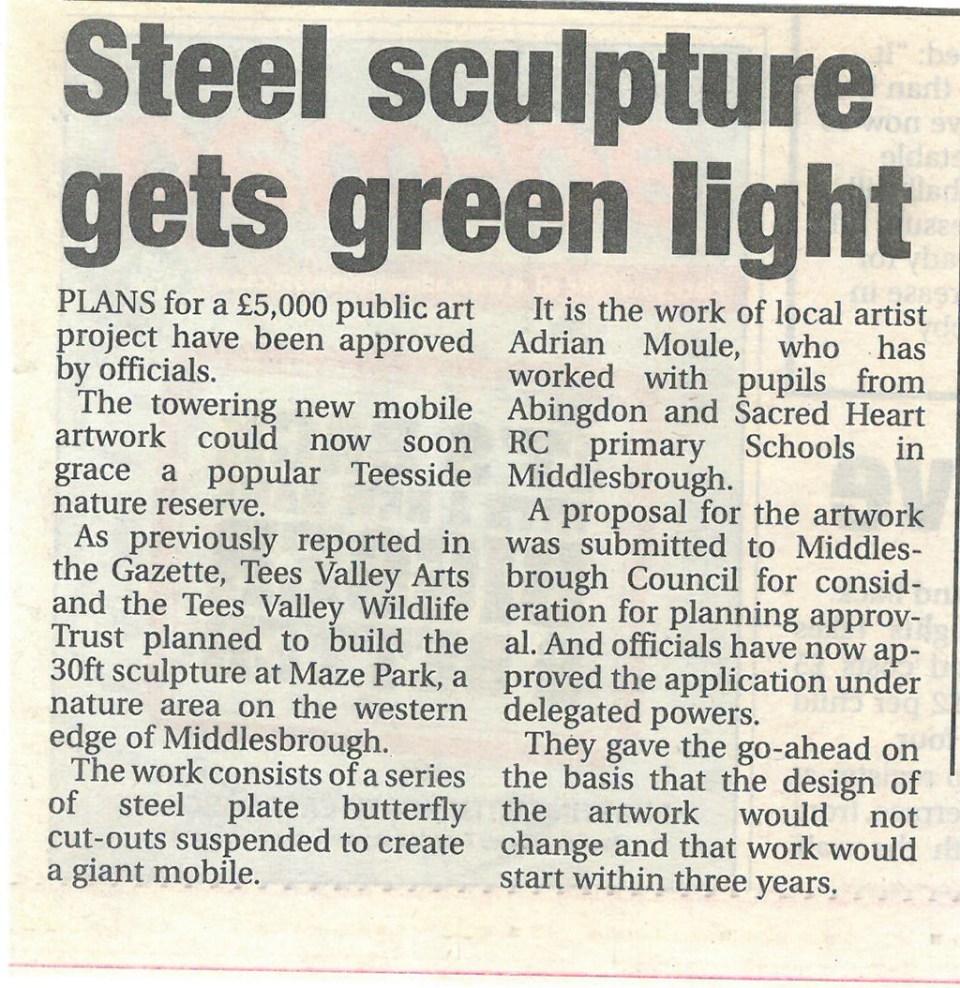 2011-05-03, Evening Gazette