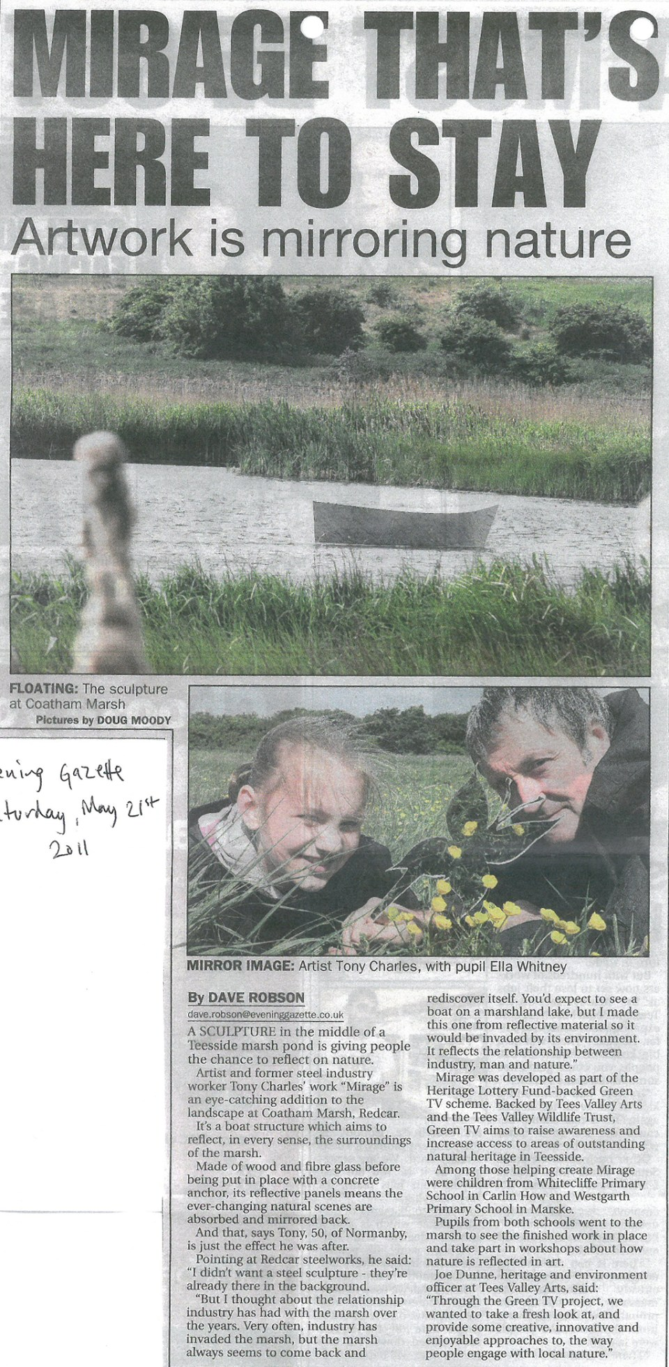 2011-05-21, Evening Gazette