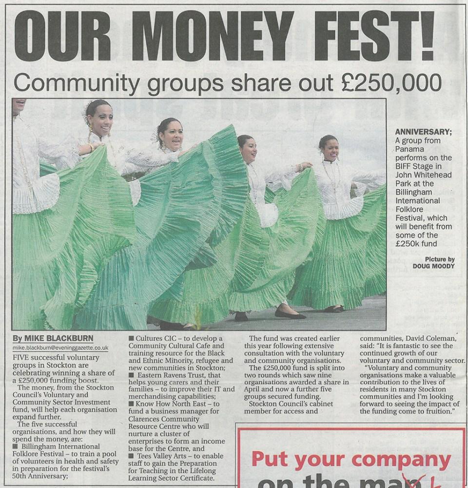 2011-09-19 - Evening Gazette