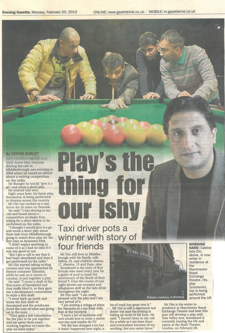 2012-02-20, Evening Gazette