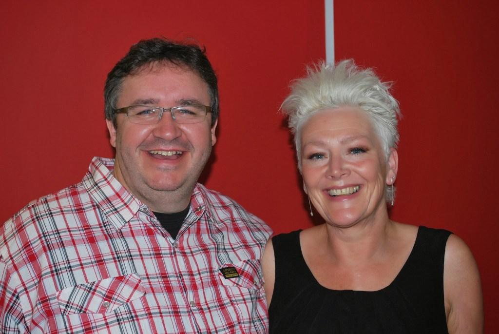 Patron Mark Benton & Director Rowena Sommerville