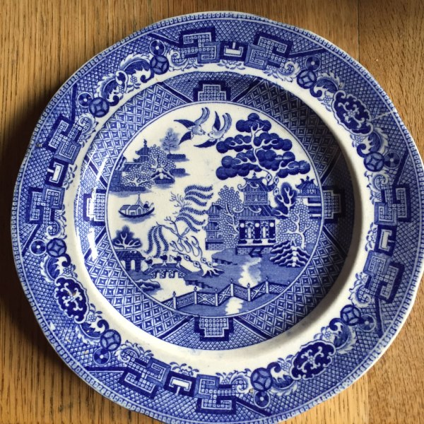 Middlesbrough Pottery Willow Plate