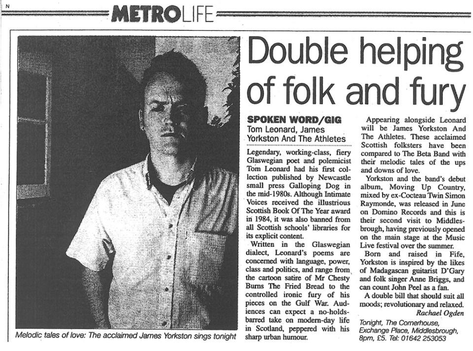 2002, Metro Life