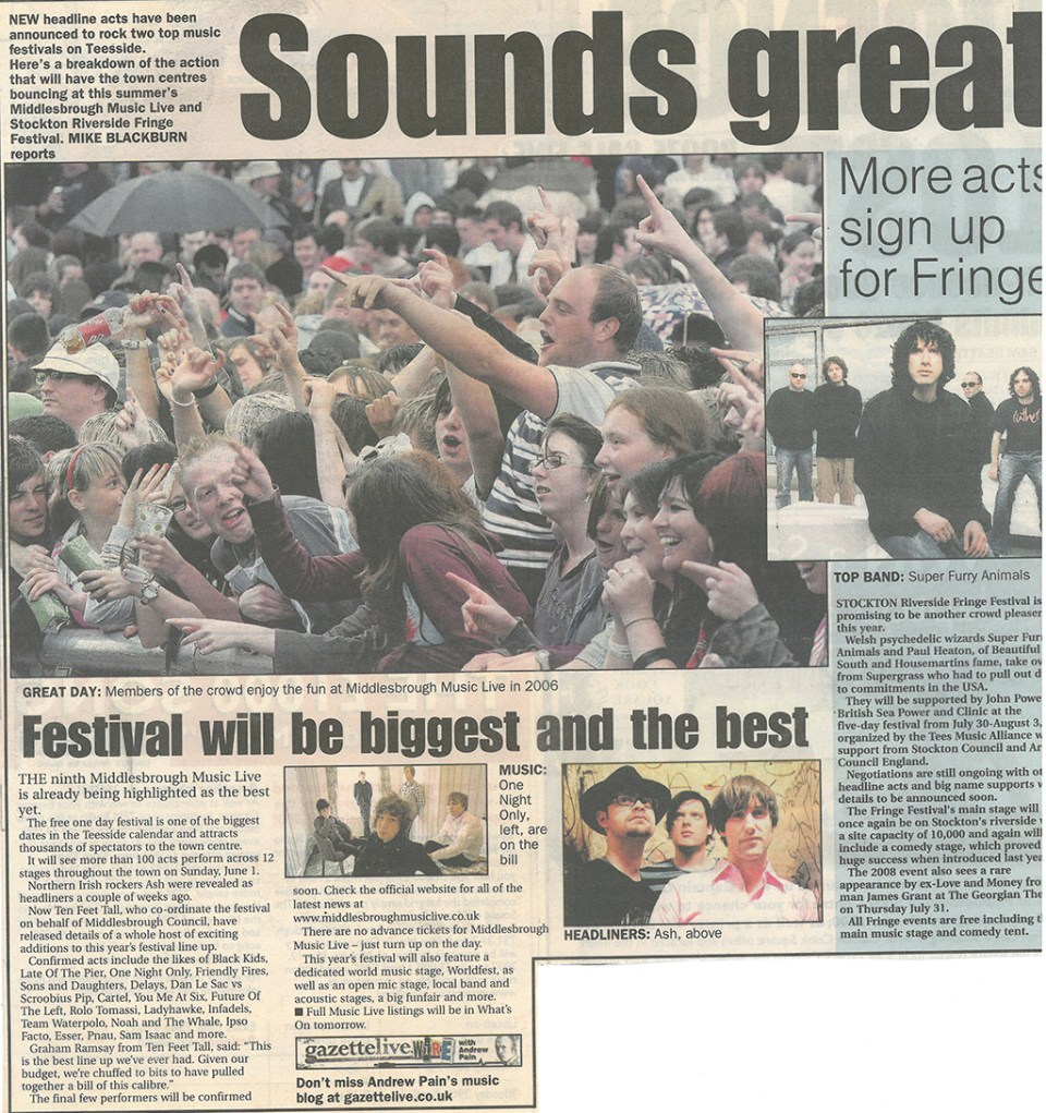2008-05-01, Evening Gazette